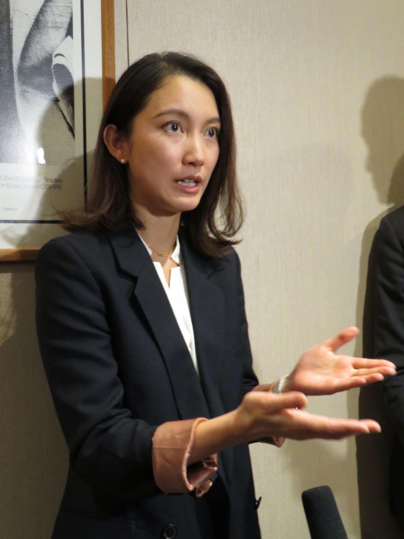 伊藤詩織さん、山口敬之氏会見取材も「新情報ない」 , 社会
