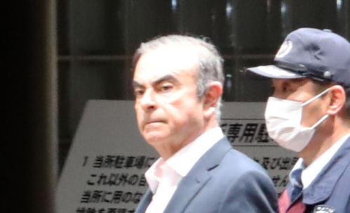 カルロス・ゴーン被告(2019年4月25日撮影)