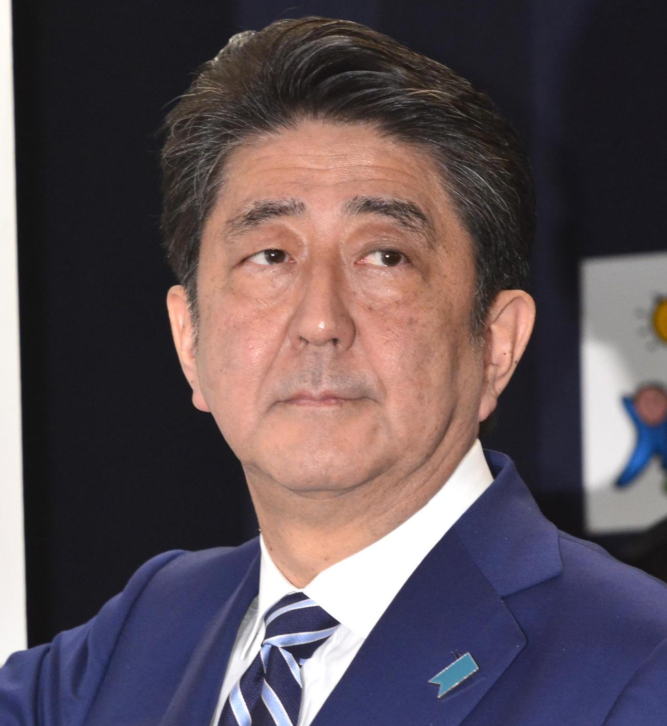 安倍晋三首相(2017年10月22日)