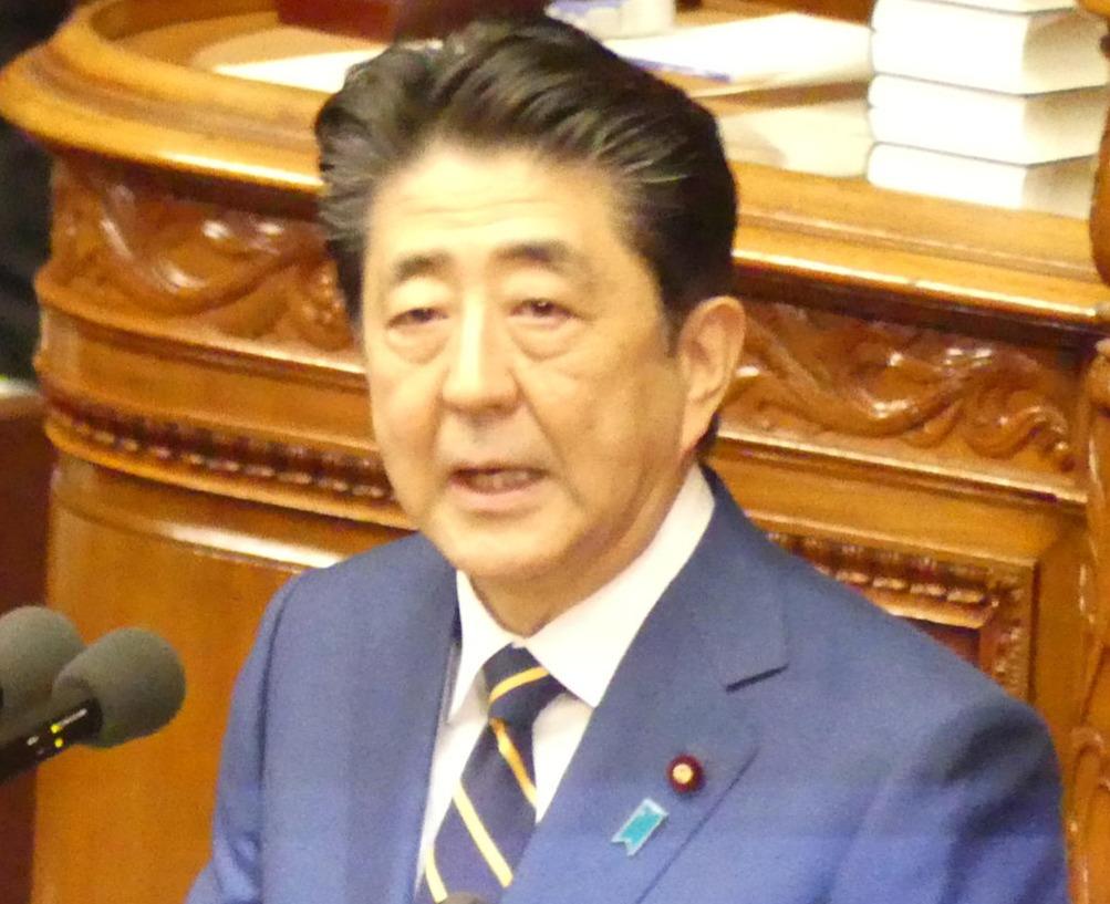 安倍晋三首相(2020年1月20日撮影)