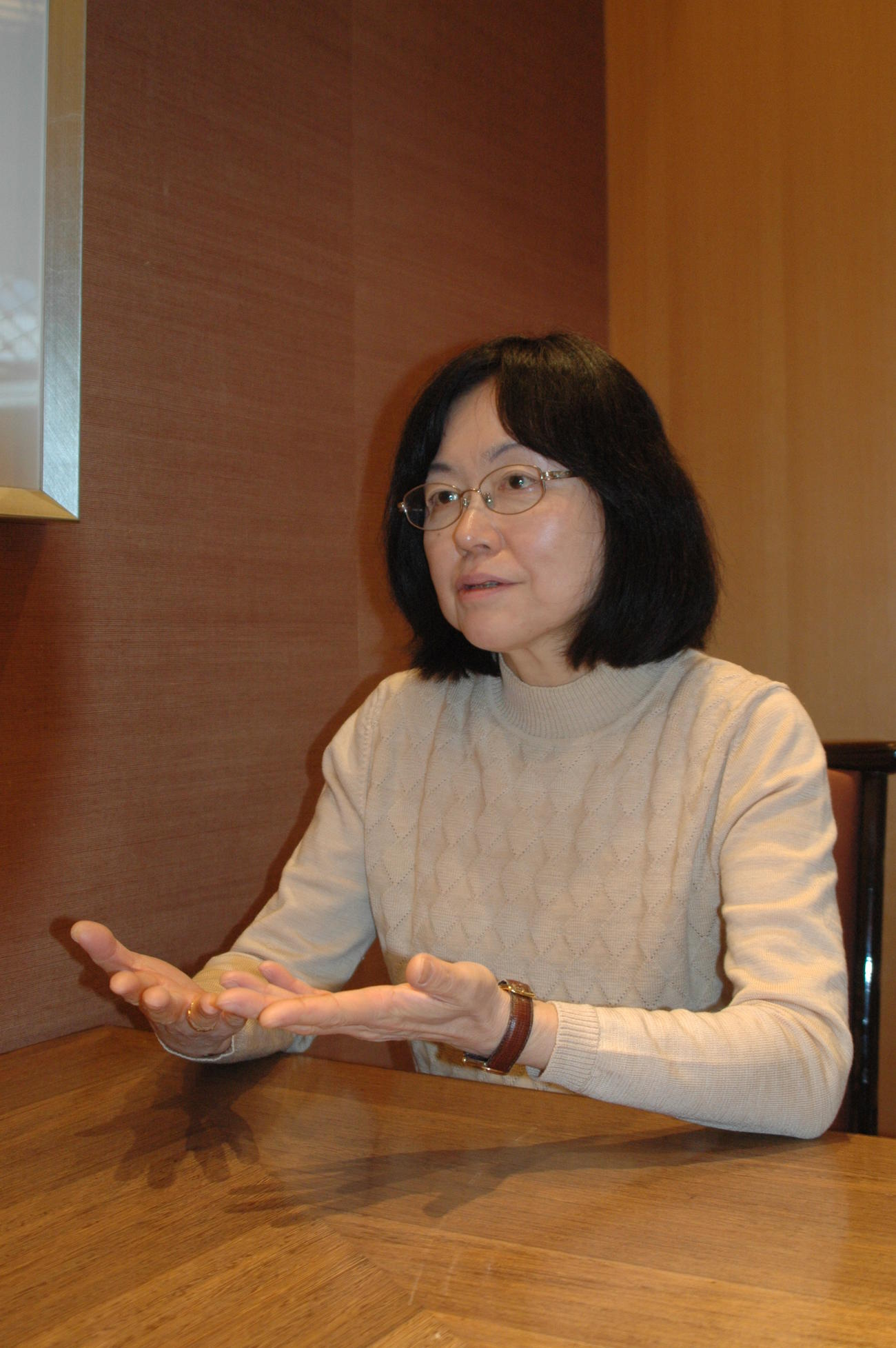 江川紹子氏(2015年3月9日撮影)