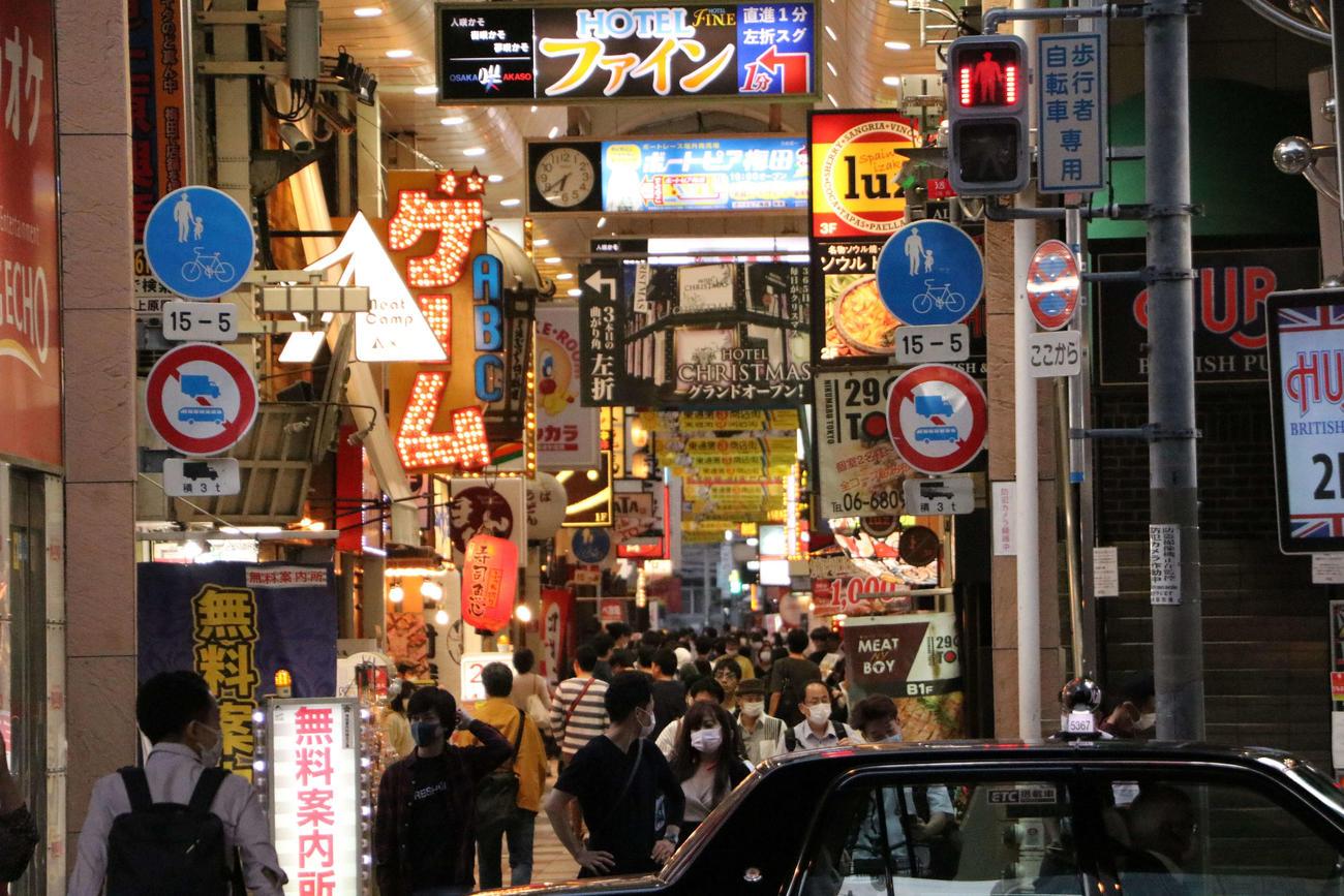 阪急東通り商店街(撮影・南谷竜則)