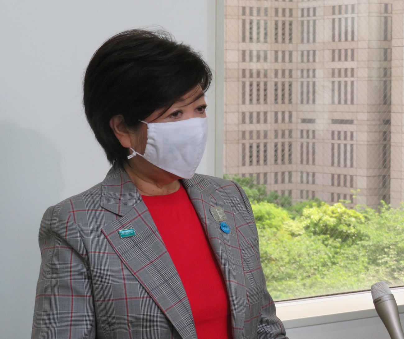 東京都の小池百合子知事(2020年5月27日)
