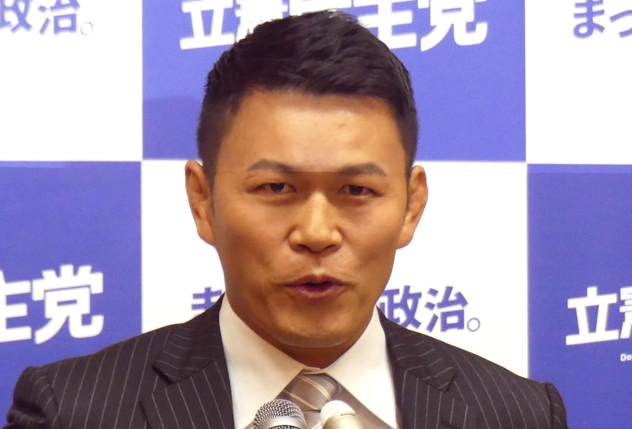 須藤元気氏(2019年6月4日撮影)