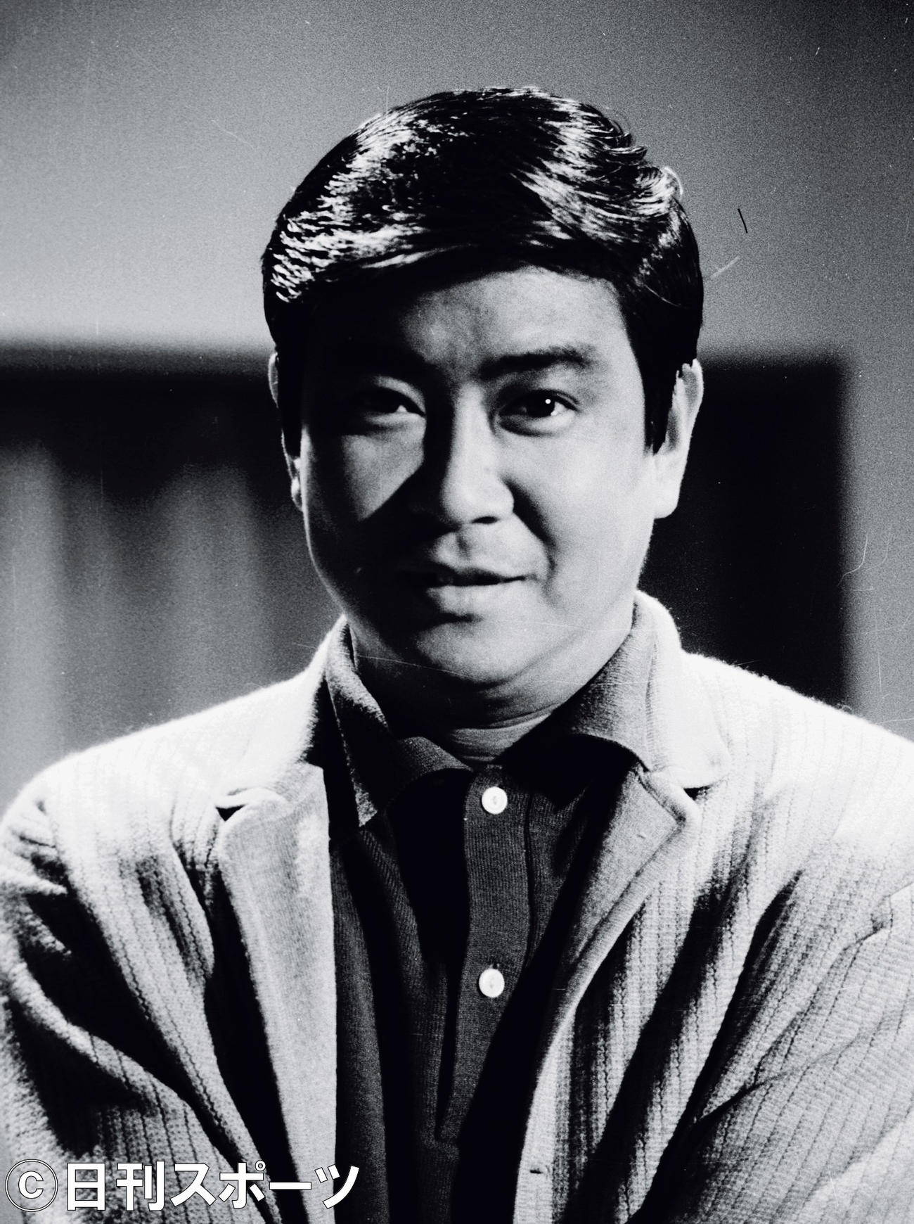 石原裕次郎さん(1969年1月31日撮影)