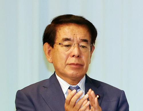 下村博文氏(2020年9月14日撮影)