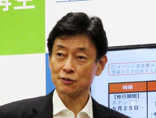 西村康稔経済再生担当大臣(2020年7月22日撮影)