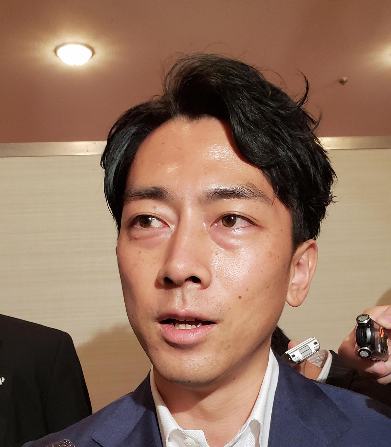 小泉進次郎環境相(2020年9月14日撮影)