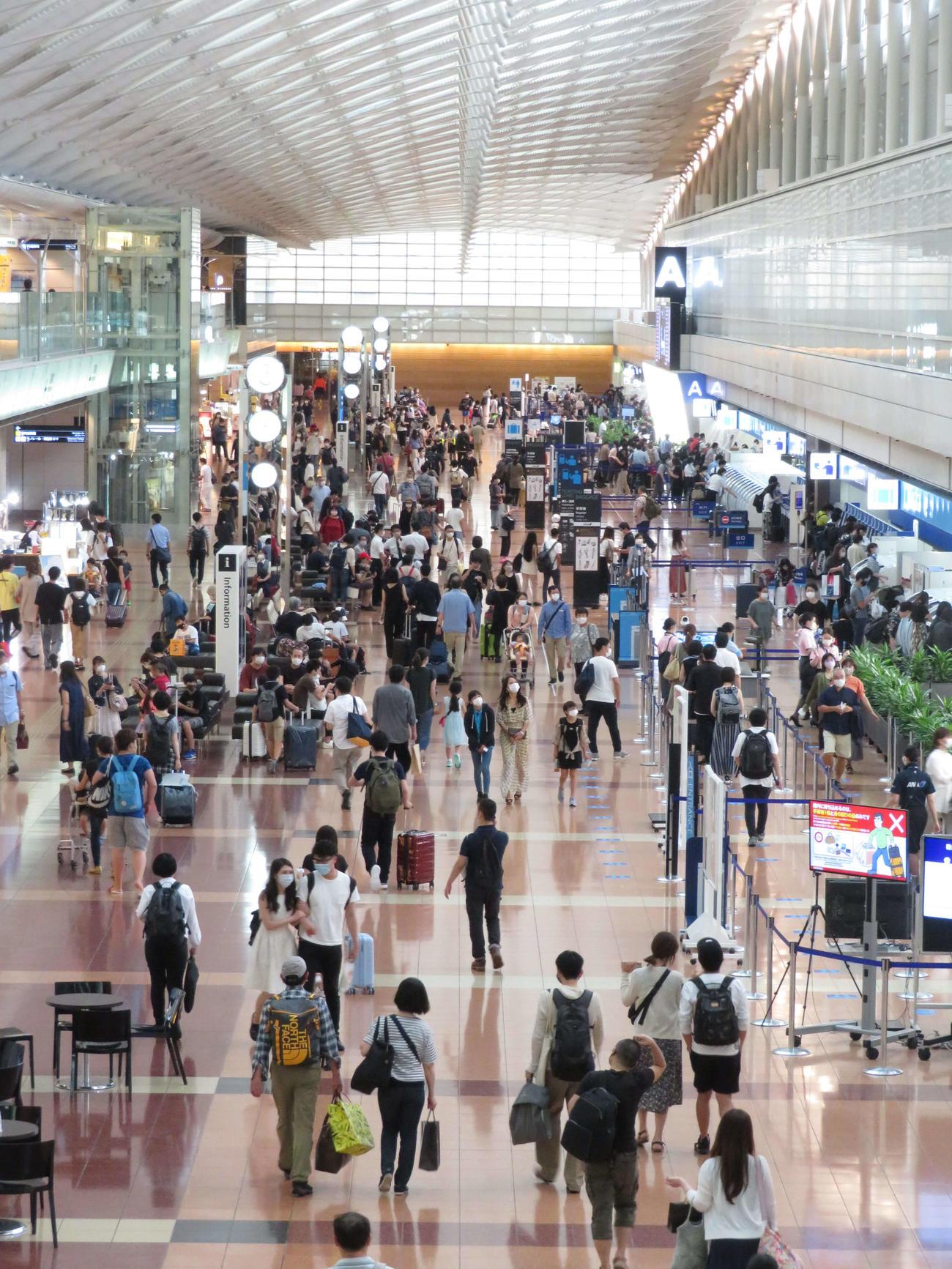 国内線 羽田 空港