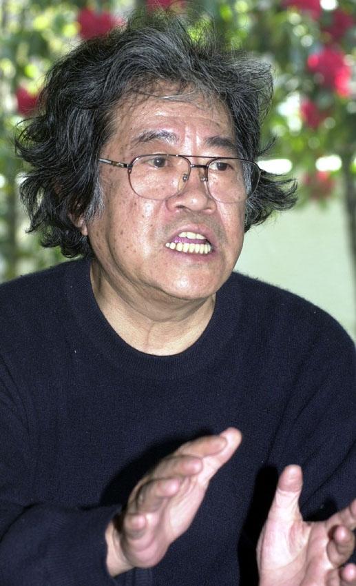 矢口高雄さん(03年4月撮影)