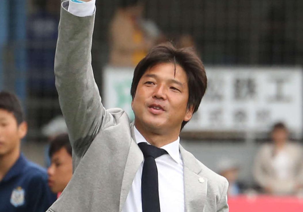 名波浩氏(2019年5月18日撮影)