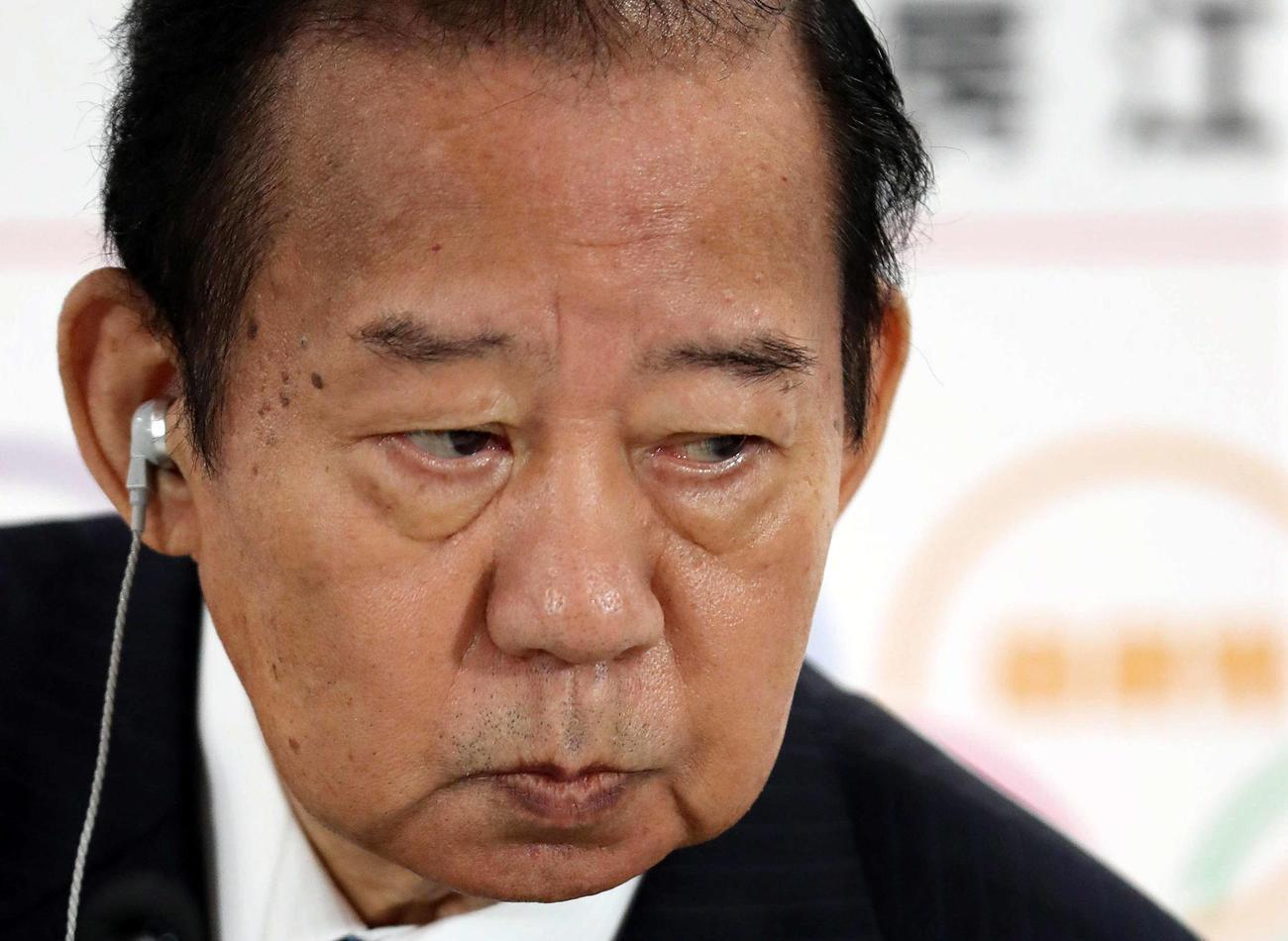 自民党・二階幹事長(2019年7月21日撮影)