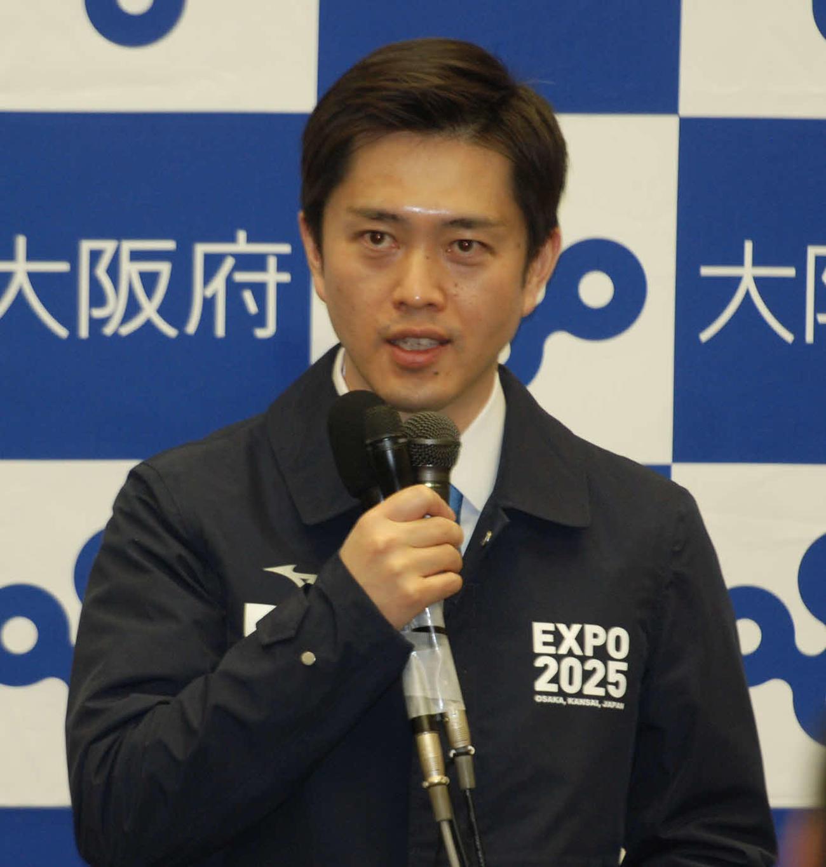 大阪府の吉村洋文知事(2021年1月8日撮影)