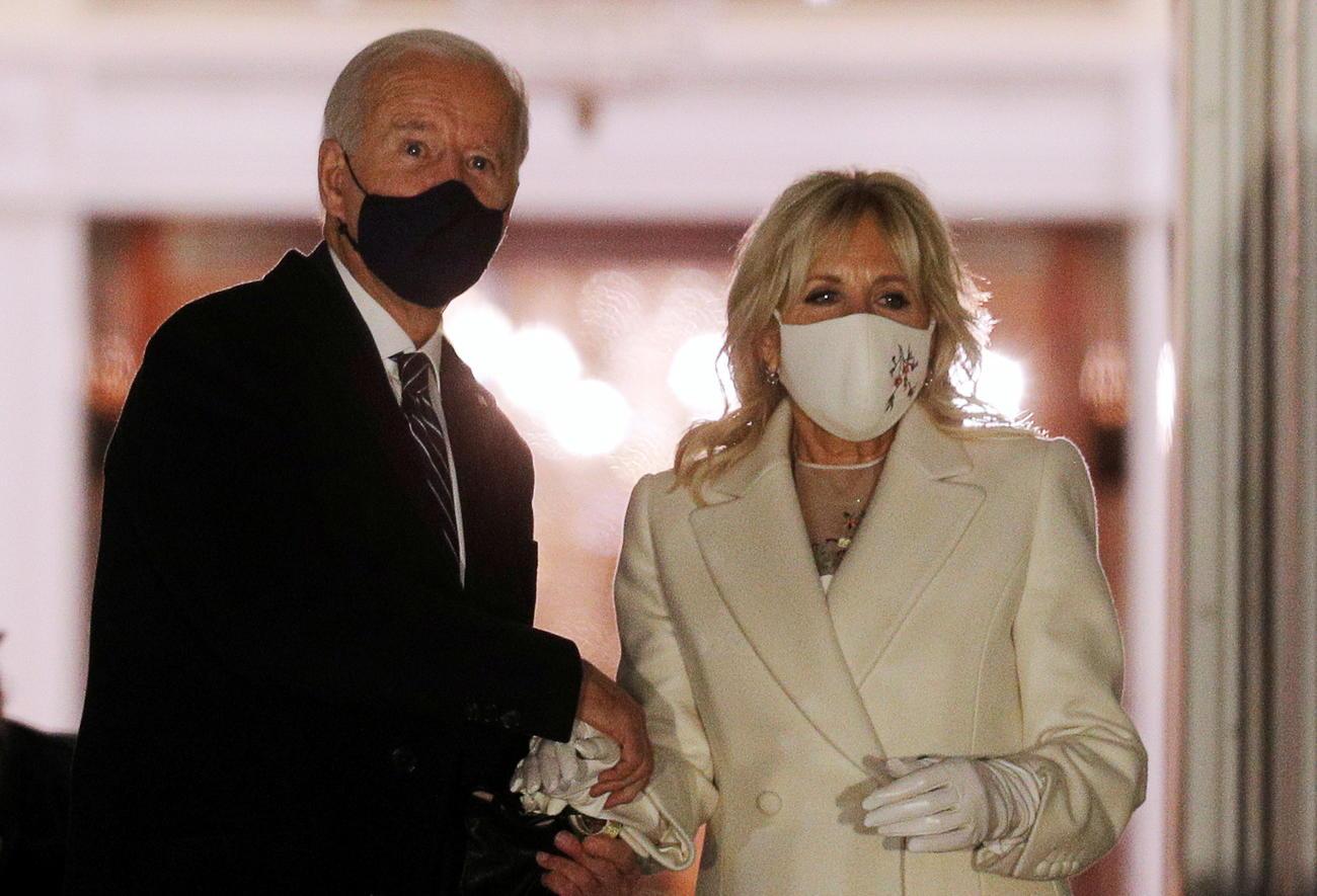 バイデン大統領とジル夫人(ロイター)