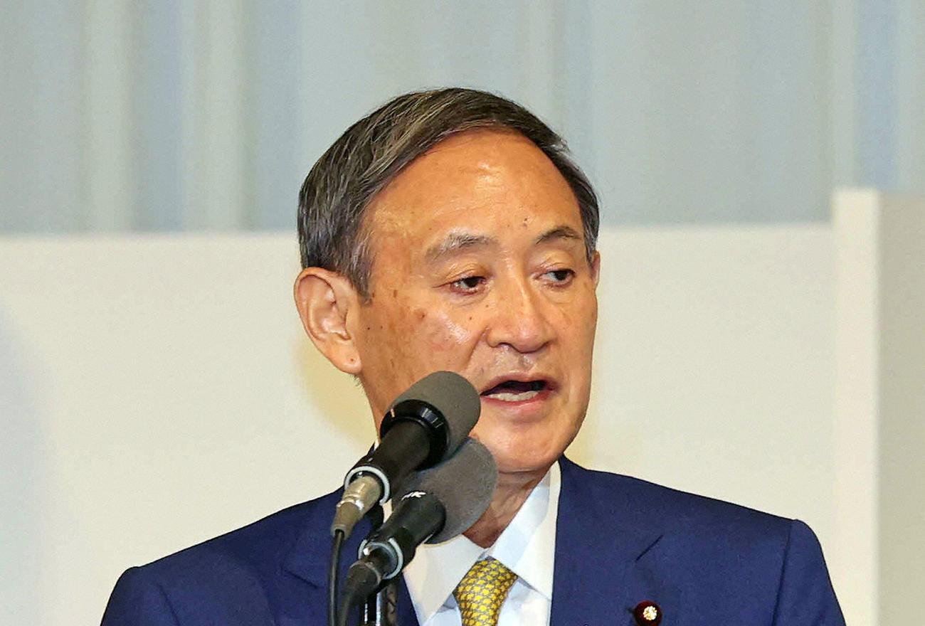 菅義偉首相(2020年9月14日撮影)