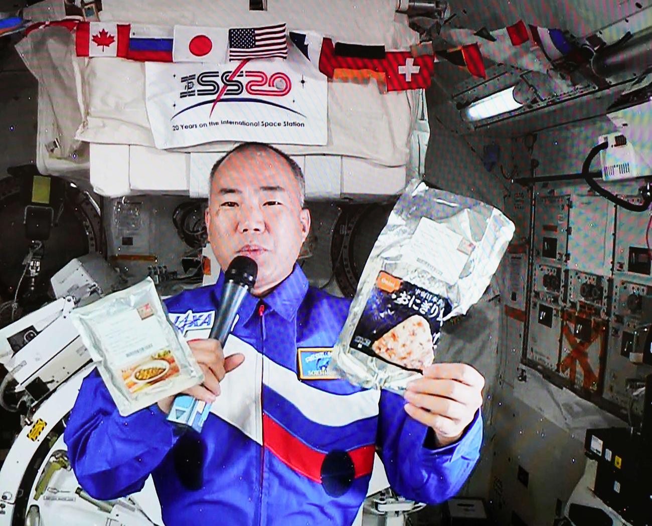 宇宙飛行士の野口聡一さん(2020年11月24日撮影)