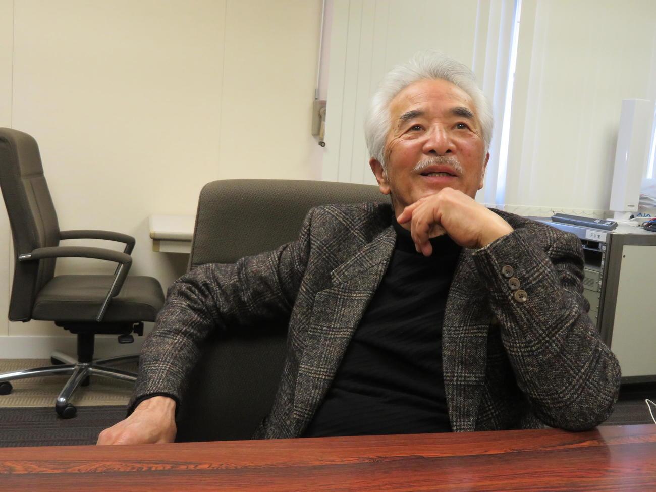 発生から10年が経過した、東日本大震災と被災地・東北への思いを語るさとう宗幸(撮影・村上幸将)