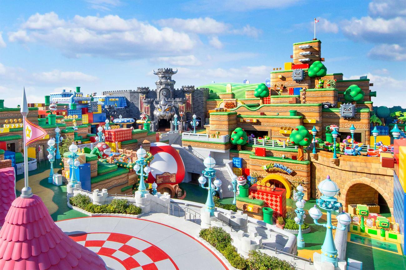 18日の開業が決まった「スーパー・ニンテンドー・ワールド」(C)Nintendo