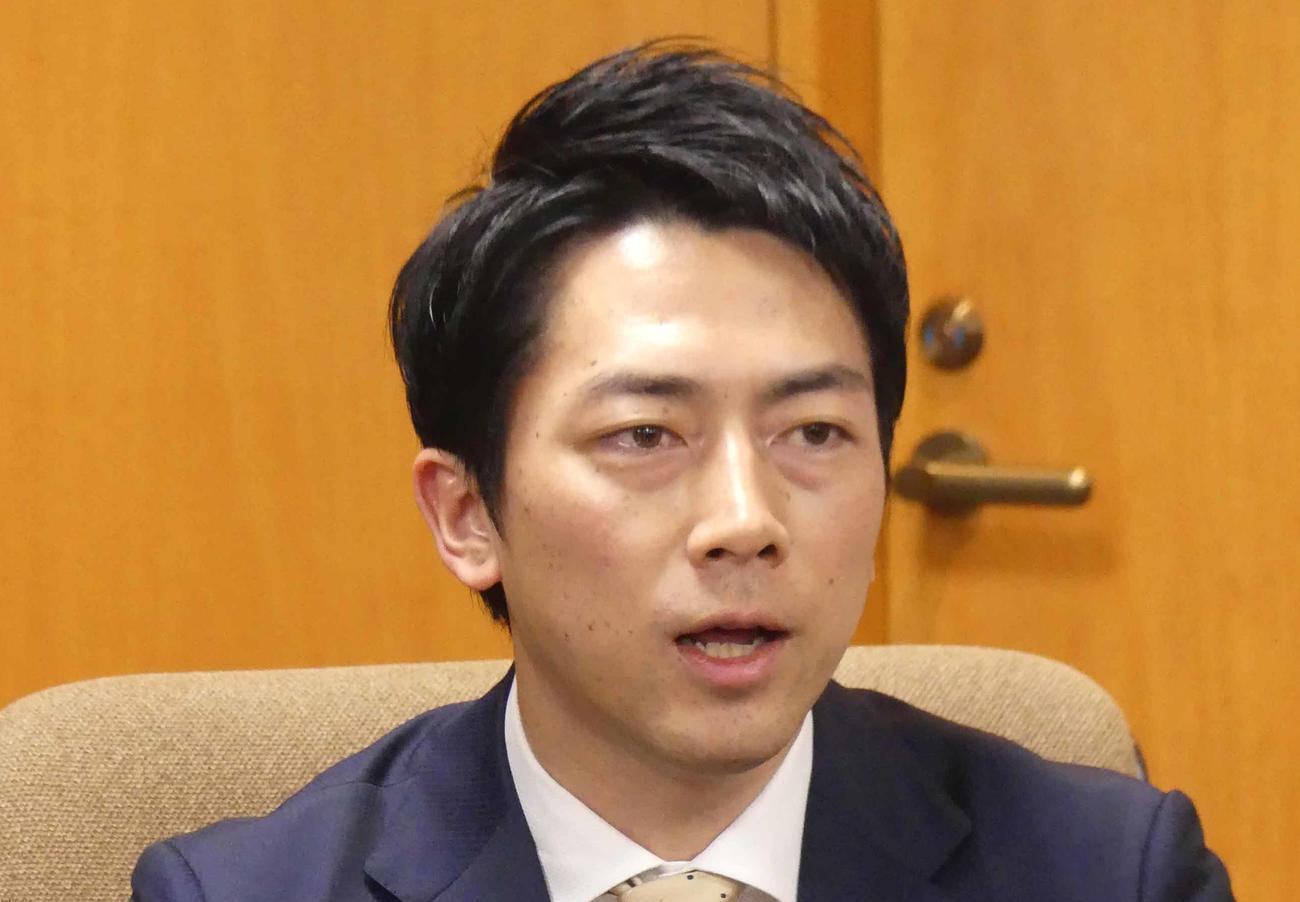 小泉進次郎環境相(2020年3月9日撮影)