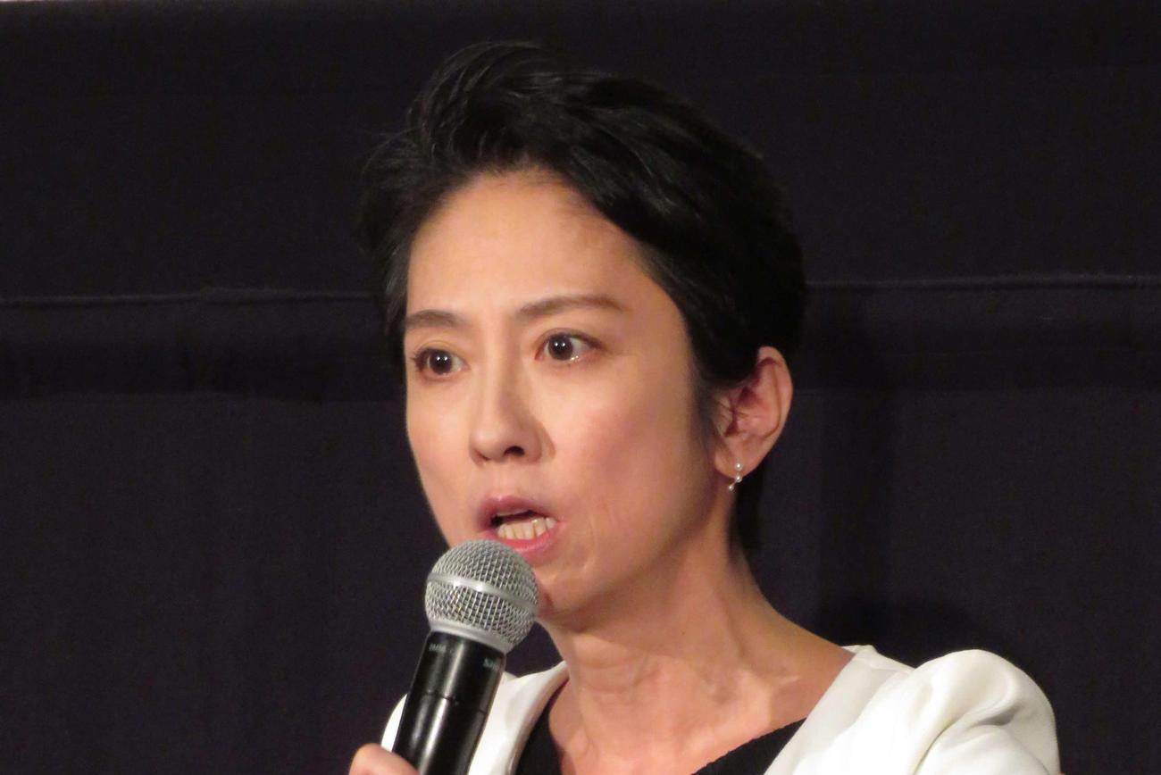 蓮舫氏(2020年10月9日撮影)