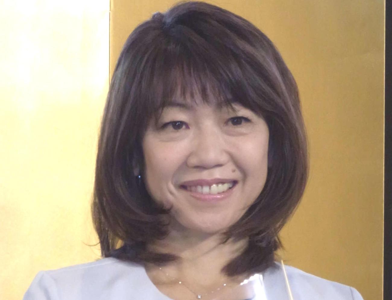 高橋尚子氏(2020年10月27日撮影)