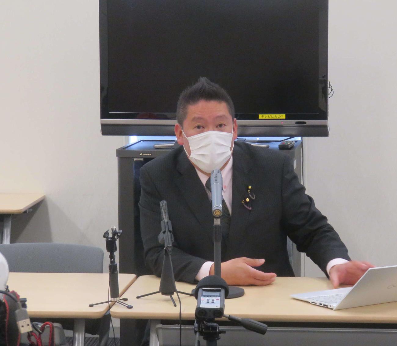 NHK党の立花孝志党首が「諸派党(仮称)」に党名変更して、次期衆院選に臨むことを発表した