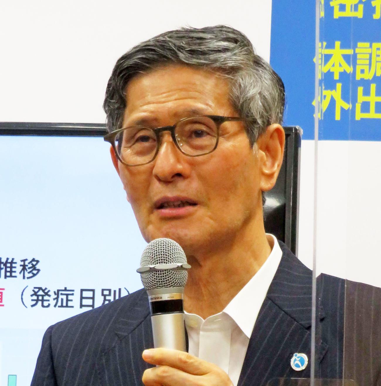 新型コロナウイルス対策分科会の尾身茂会長(20年7月撮影)