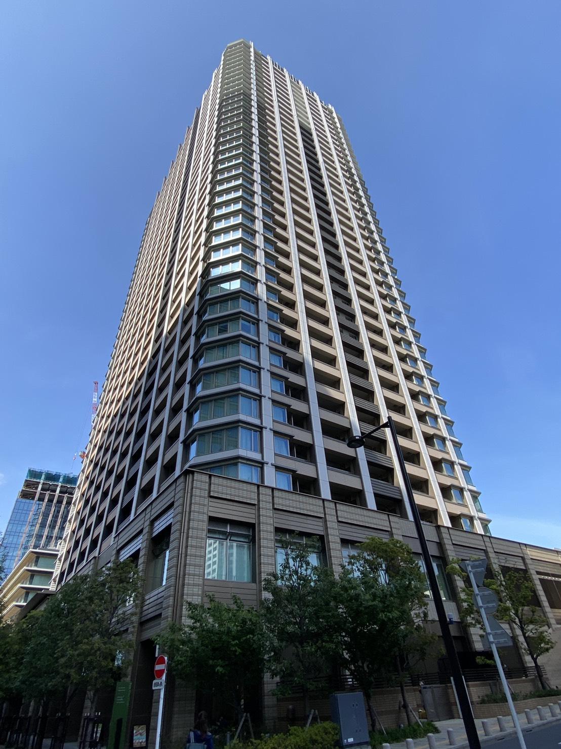 須藤早貴容疑者が暮らしていたとされる都内の高級タワーマンション