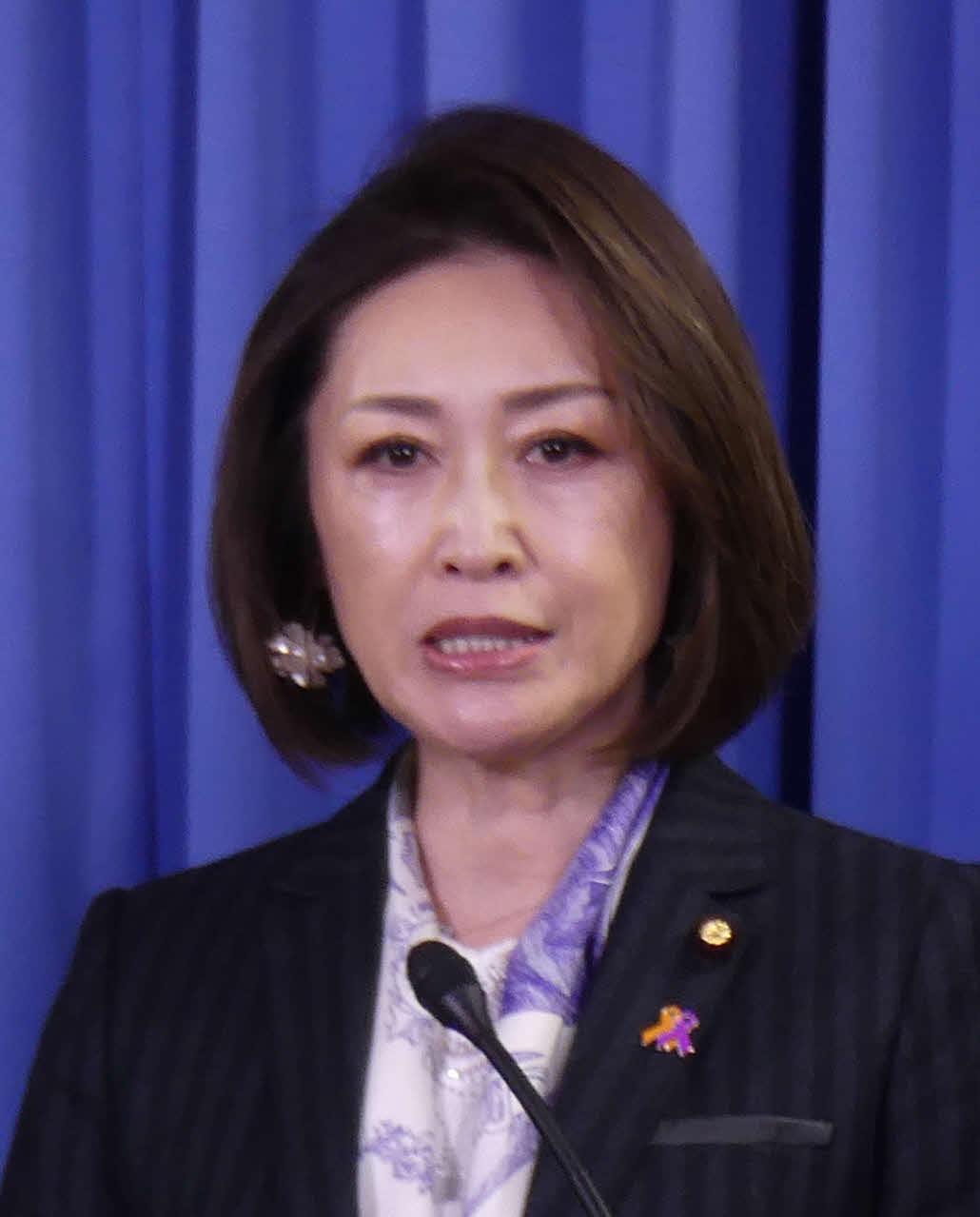 三原じゅん子副大臣(2020年3月17日撮影)