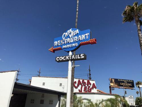 カサ・ベガスはLAでは有名な老舗メキシカンレストラン