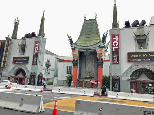 ハリウッドのチャイニーズ・シアターは4カ月以上閉鎖されたままです