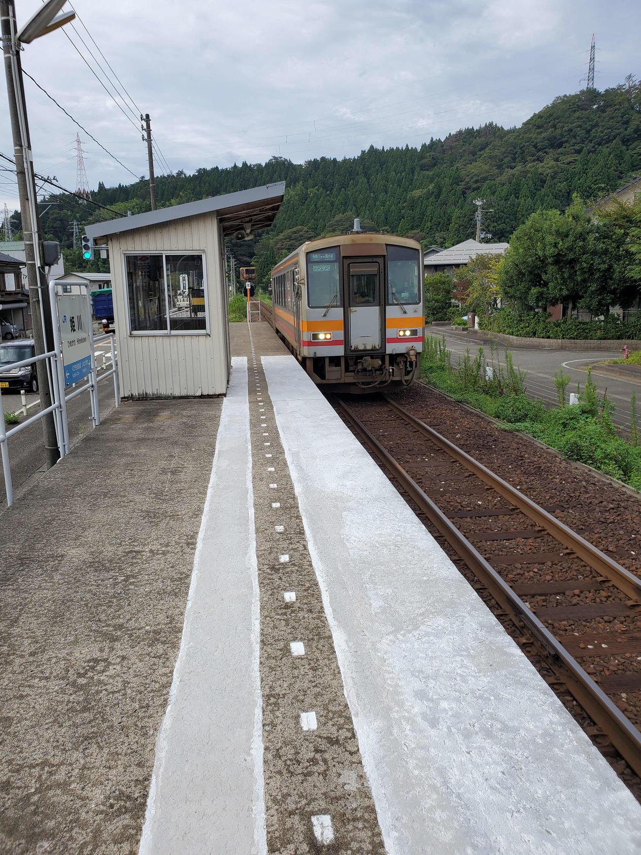 〈9〉JR西日本のローカル線といえばこちら。キハ120がやってきた