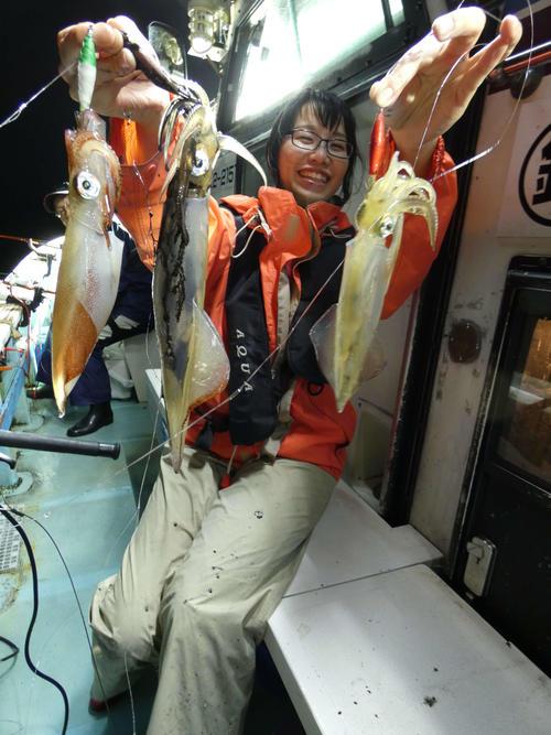 マイカ3連掛けに大喜びの和田さん