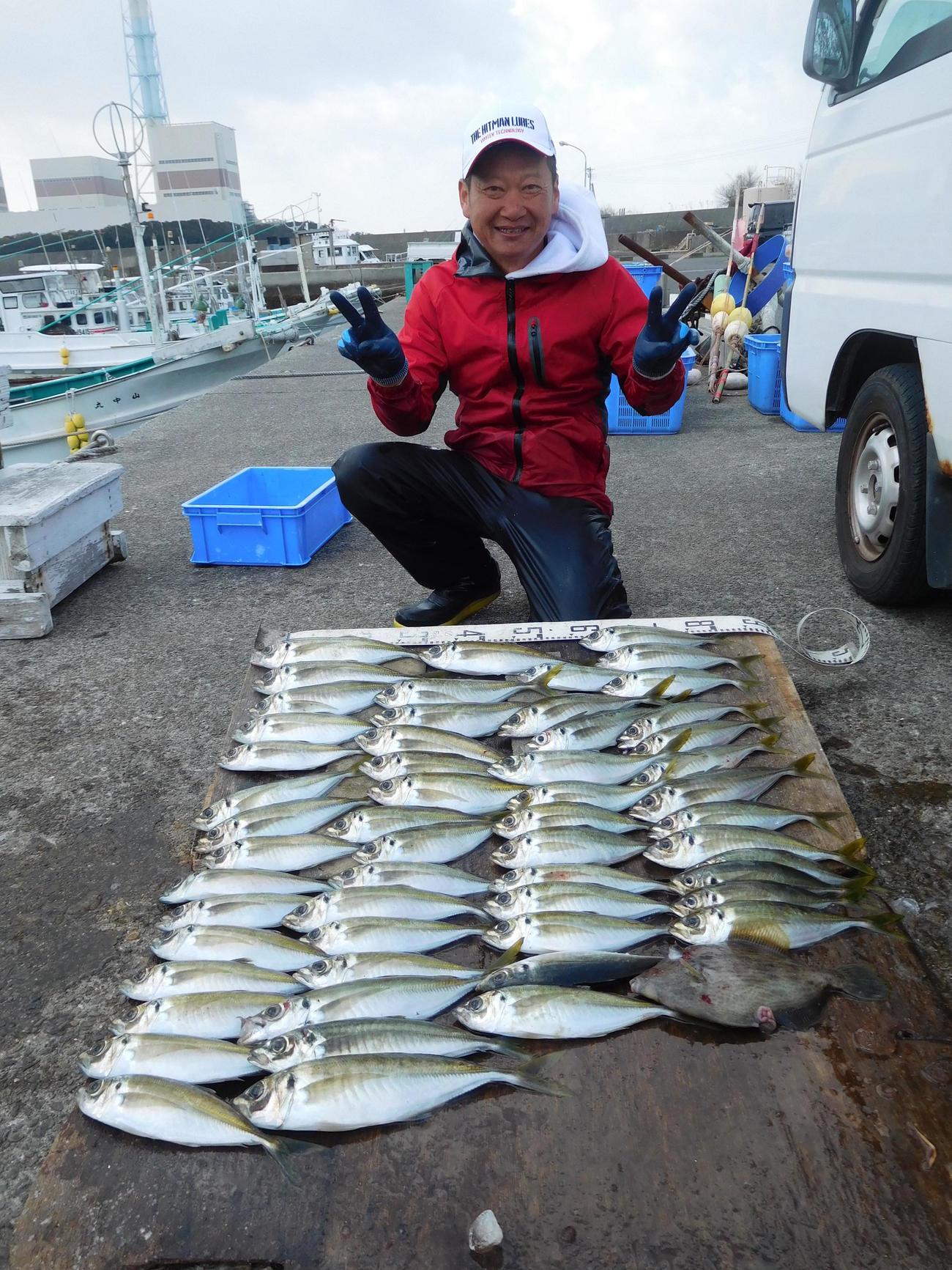 橋本さんの釣果
