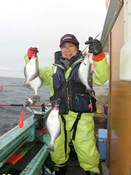 針数のソウハチを釣り上げた札幌市の加藤敏之さん