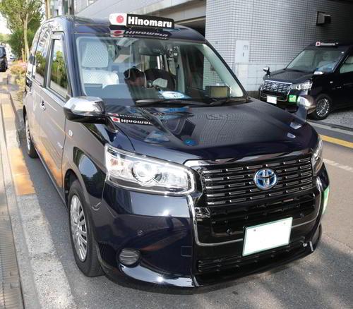 日の丸自動車のジャパンタクシー