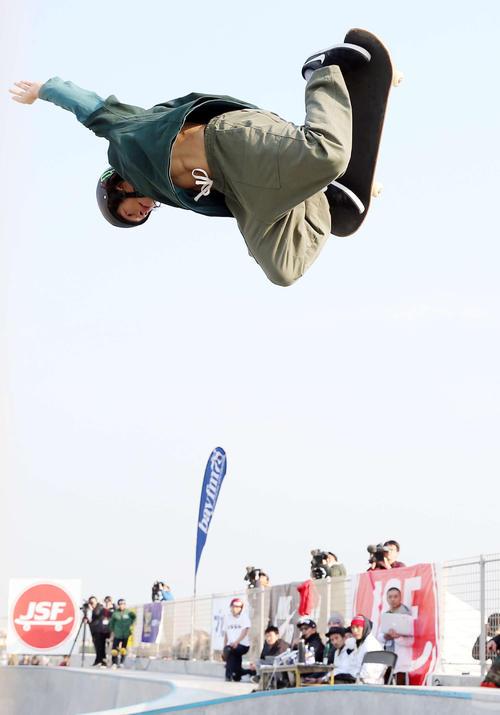 日本のスケートボードが「スポーツ」として認知された(写真は平野歩夢)
