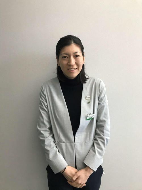 JR東日本・東京2020オリンピック・パラリンピック推進室の藤森佳世子さん