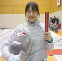 フェンシング女子サーブル日本代表の江村美咲