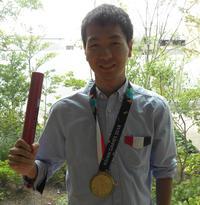 アジア大会金メダリストの杉村直紀