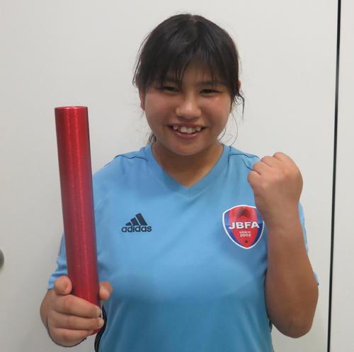 ブラインドサッカー女子日本代表のエース菊島宙