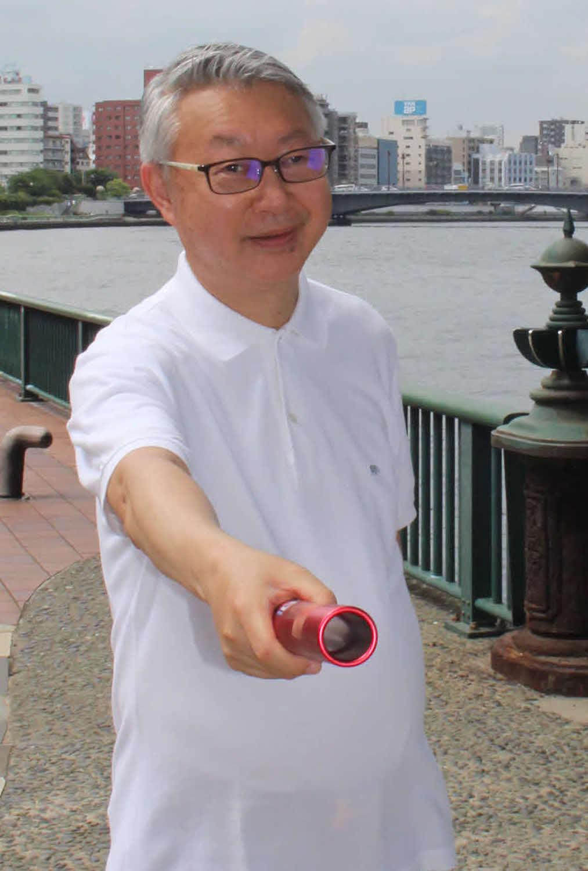 奥野庸介氏
