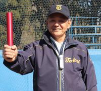 96年アトランタ五輪で日本代表コーチを務めた東海大・井尻監督(撮影・古川真弥)