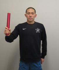 男子400メートル個人メドレーで五輪代表を狙う井狩裕貴(撮影・益田一弘)