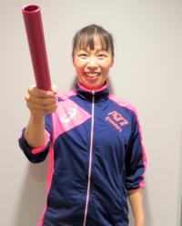 連載「日刊スポーツ 東京オリンピック特集」 300人リレーコラム 岡本依子氏