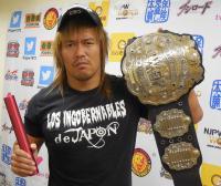 新日本プロレスのIWGPヘビー級王者内藤哲也