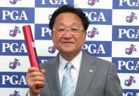 ゴルフの五輪対策本部強化委員長の倉本昌弘氏