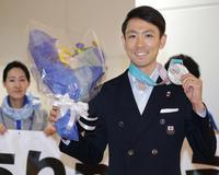銀メダルに悔しさと喜び、渡部暁斗ら複合選手が帰国 - 複合 : 日刊スポーツ