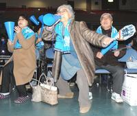 スノボ斯波の祖母「マサキ~」母校・山形南で大声援 - スノーボード : 日刊スポーツ