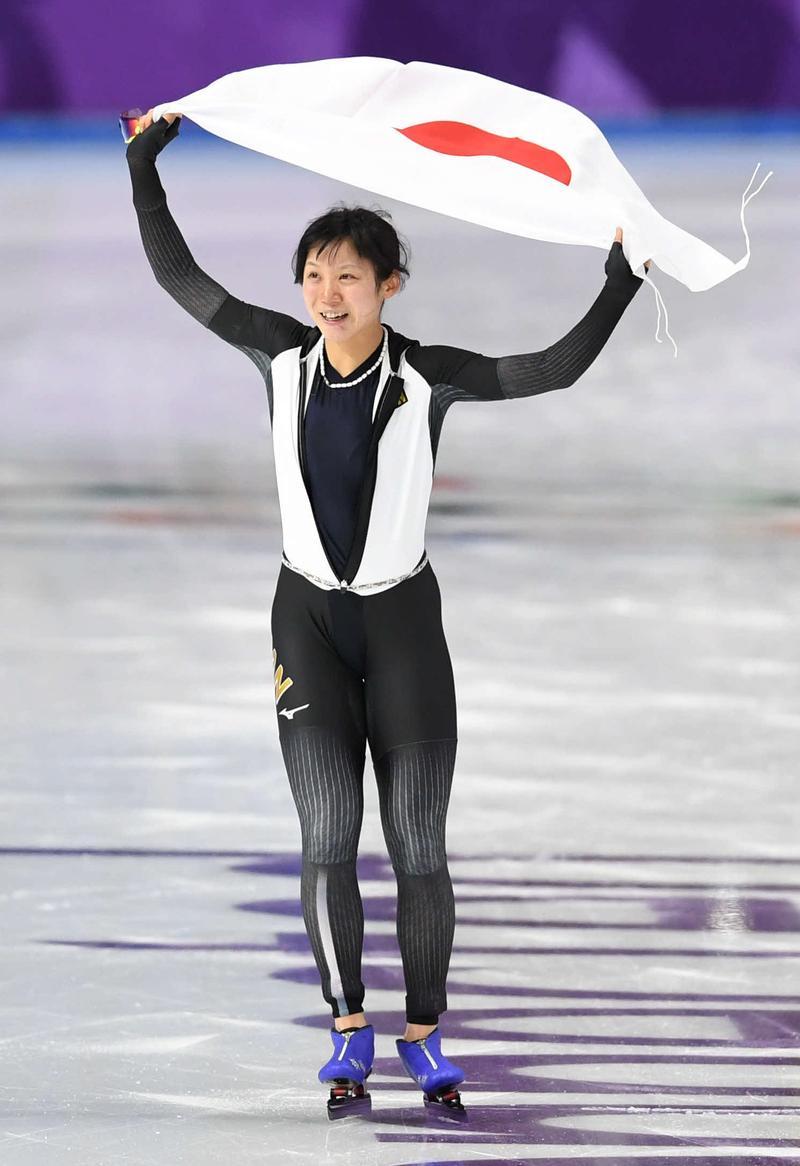 高木美帆、スピードスケート涙の銀メダルは13%